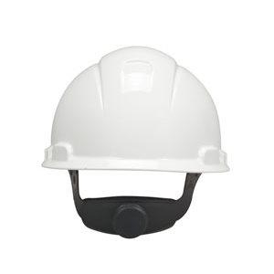 Hard Hat, White 4-Point Ratchet Suspension H-701R, 20 ea / cs