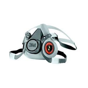 Half Facepiece Reusable Respirator 6200 / 07025(AAD), Respiratory Protection, Medium 24 / cs