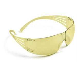3M Secure Fit Protective Eyewear SF203AF Amber