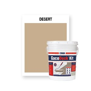 GacoDeck Kit - Desert- 3.5 Gallon