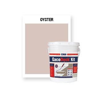 GacoDeck Kit - Oyster- 3.5 Gallon
