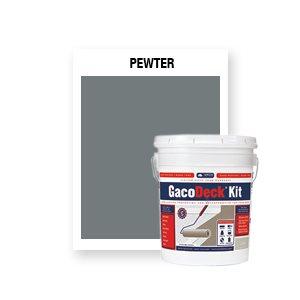 GacoDeck Kit - Pewter- 3.5 Gallon