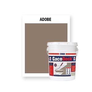 GacoDeck Top Coat - Adobe- 5 Gallon