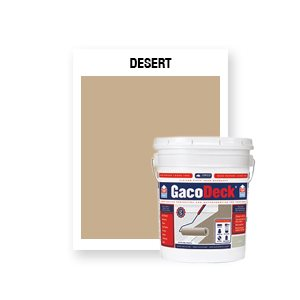 GacoDeck Top Coat - Desert- 5 Gallon