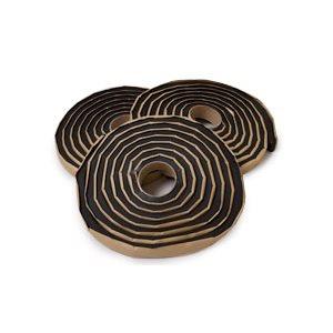 """WATERSTOP Rectangle Shape- 3 / 4""""x1""""x16'8"""" / roll. 6 rolls (100') per case."""
