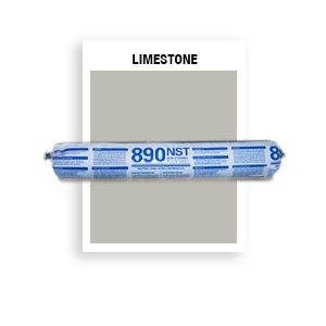 890 NST - SSG-039-Limestone SSG Beige Non-Staining, Ultra-Low Modulus Silicone Sealant-20 oz sausage