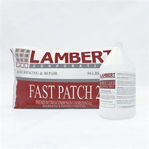 LAMBERT FAST PATCH 2 KIT - 50 LB BAG + 1 GAL